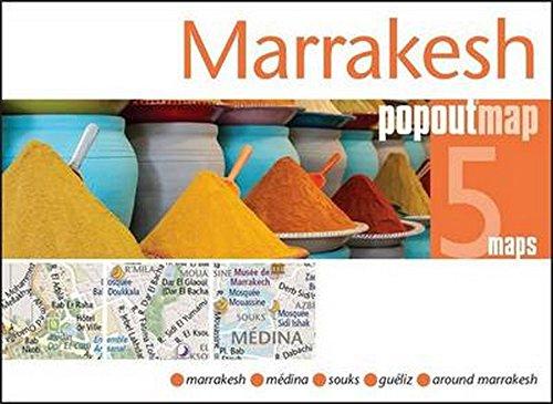 Marrakesh Popout Map: Maps Popout (COR)