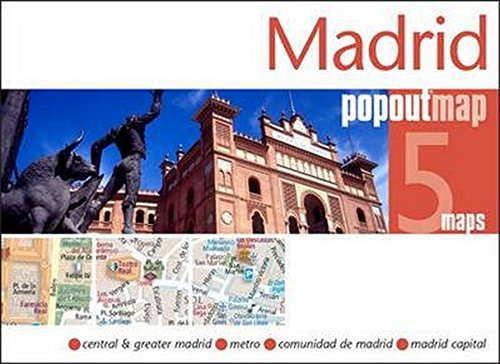9781845879969: Madrid Popout Map - handy pocket size pop-up city map of Madrid; includes a metro map (PopOut Maps)