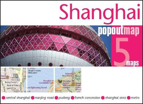 9781845879976: Shanghai PopOut Map (PopOut Maps)