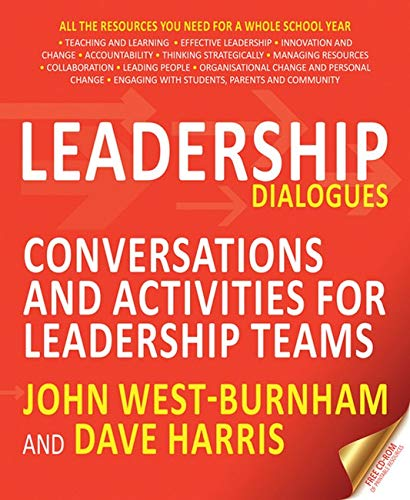 9781845909062: Leadership Dialogues: Conversations and activities for leadership teams
