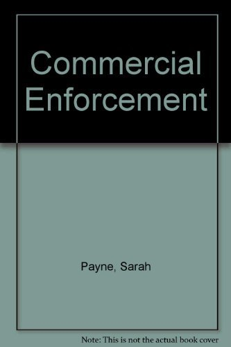 9781845920371: Commercial Enforcement