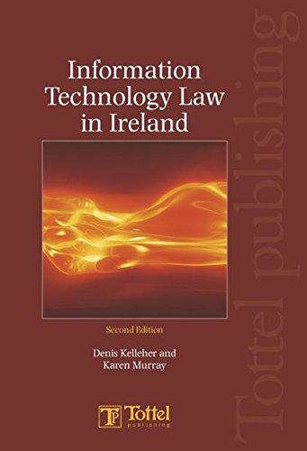 9781845921118: Information Technology Law in Ireland