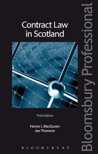 9781845921477: Contract Law in Scotland: Second Edition