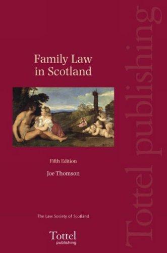9781845922863: Family Law in Scotland