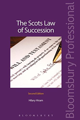 The Scots Law of Succession: Hiram, Hilary