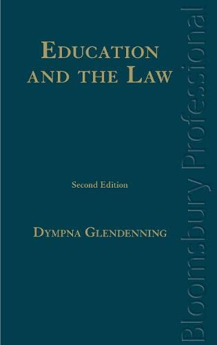 9781845923624: Education and the Law: A Guide to Irish Law (Second Edition)