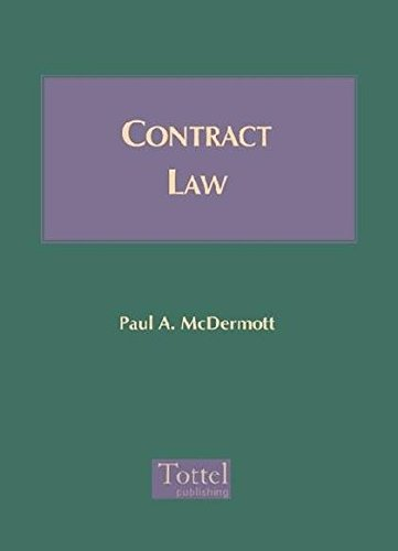 9781845923648: Contract Law