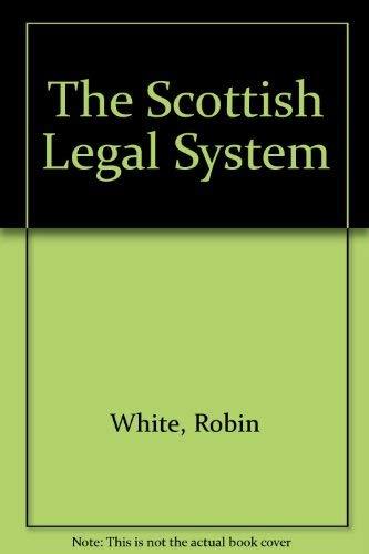 9781845923686: The Scottish Legal System