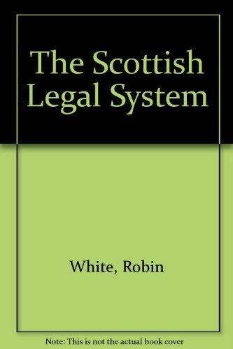 9781845923686: The Scottish Legal System