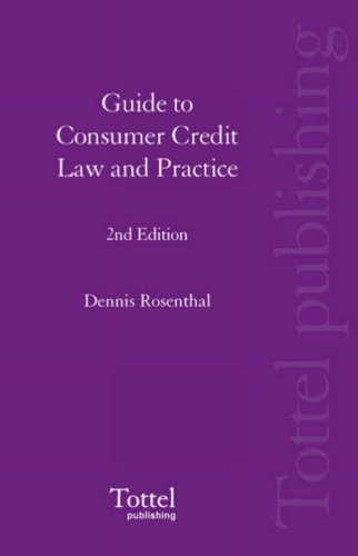 9781845925055: Guide to Consumer Credit Law and Practice: 2nd Edition