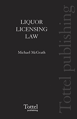 9781845926175: Liquor Licensing Law