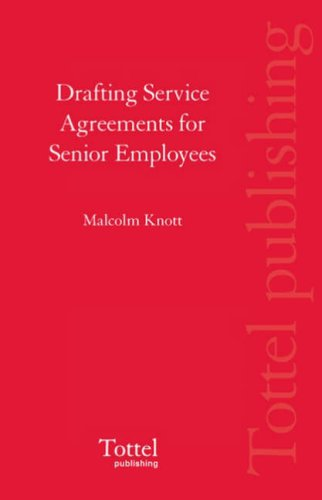 9781845926267: Drafting Service Agreements for Senior Employees