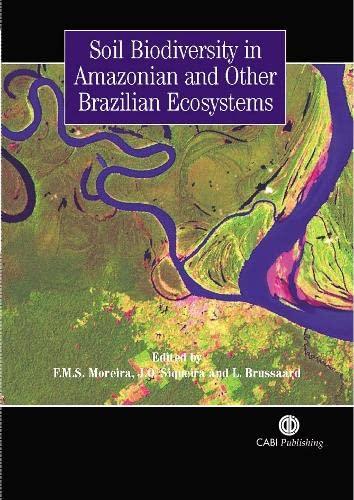 9781845930325: Soil Biodiversity in Amazonian and Other Brazilian Ecosystems (Cabi Publishing)
