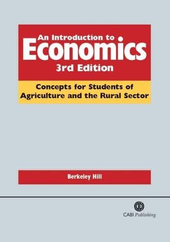 9781845931278: An Introduction to Economics: Concepts for Students of Agriculture and the Rural Sector