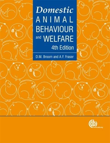 9781845932879: Domestic Animal Behaviour and Welfare