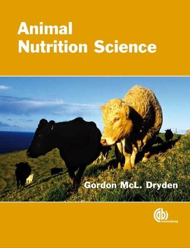 Animal Nutrition Science: G Dryden