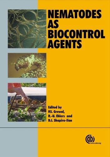 9781845934545: Nematodes as Biological Control Agents (Cabi)