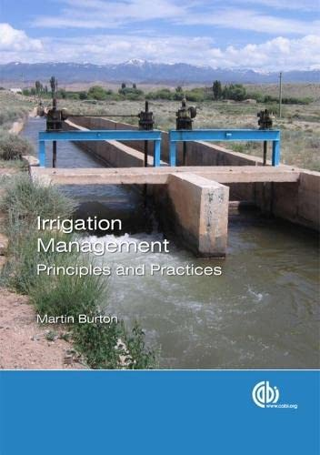 9781845935160: Irrigation Management: Principles and Practices