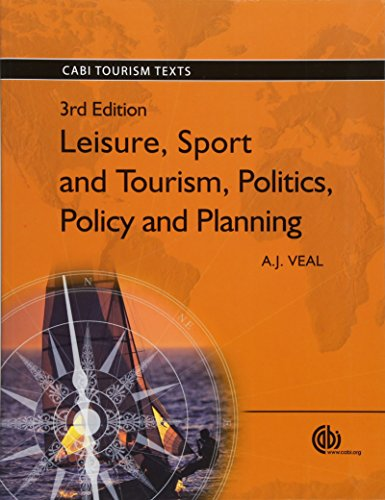 9781845935238: Leisure, Sport and Tourism (CABI Tourism Texts)