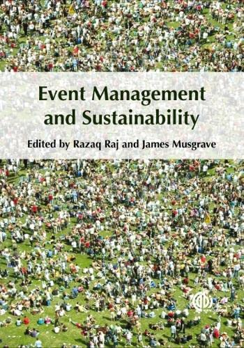 9781845935245: Event Management and Sustainability