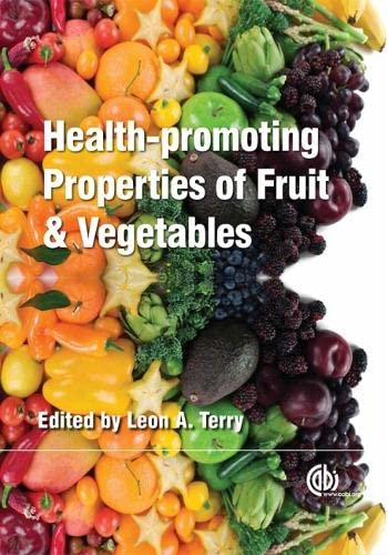 9781845935283: Health-Promoting Properties of Fruit and Vegetables