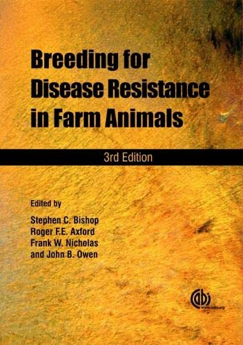 Breeding for Disease Resistance in Farm Animals: S.C. Bishop, F.