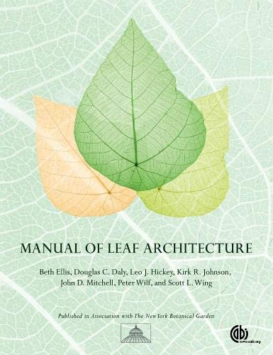 9781845935856: Manual of Leaf Architecture