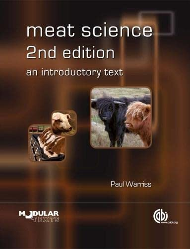 9781845935931: Meat Science: An Introductory Text (Modular Texts Series)