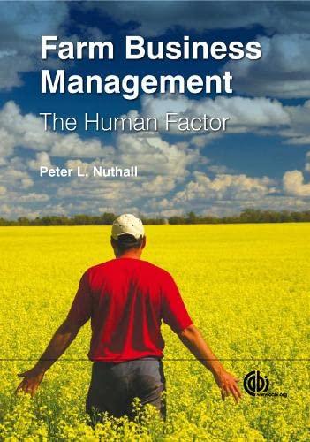 9781845935986: Farm Business Management: The Human Factor (Farm Business Management Series)