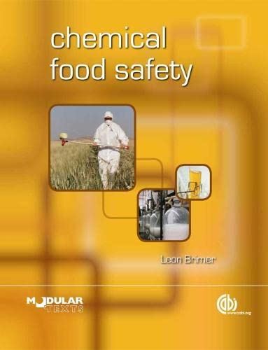 9781845936761: Chemical Food Safety (Animal & Veterinary Science)