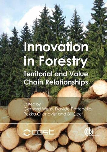 9781845936891: Innovation in Forestry: Territorial and Value Chain Approaches