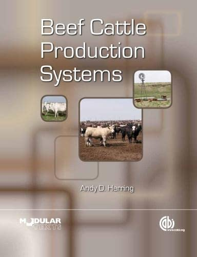9781845937959: Beef Cattle Production S (Modular Texts)