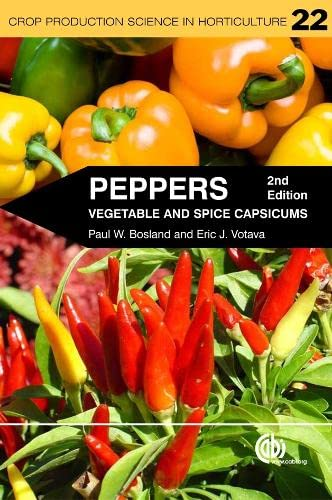9781845938253: Peppers: Vegetable and Spice Capsicums (Crop Production Science in Horticulture)