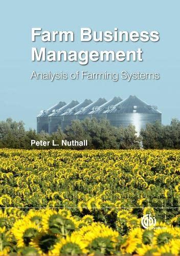 9781845938390: Farm Business Management: Analysis of Farming Systems (Farm Business Management Series)