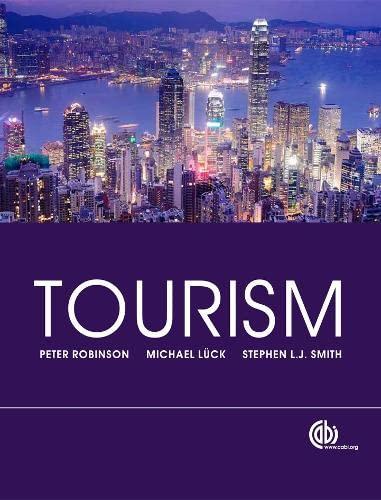9781845939762: Tourism