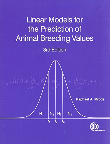 9781845939816: Linear Models for the Prediction of Animal Breeding Values