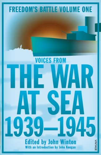 9781845950828: The War At Sea 1939-45: Freedom's Battle Volume 1 (Freedoms Battle Trilogy 1)