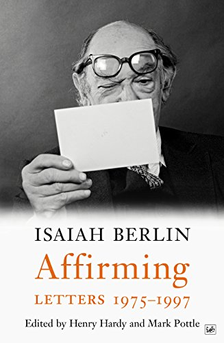 9781845952259: Affirming: Letters 1975-1997