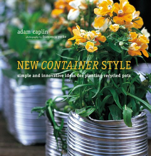 New container style 9781845971601 creatively planted for What kind of paint to use on kitchen cabinets for scented candle holder