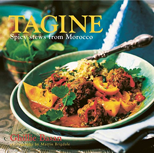 Tagine 9781845974794 These hearty meals, flavored with spices and fruit, are served from an elegant, specially designed cooking vessel, also called a tagine. In Ghillie Basan's collection of aromatic recipes you will find some of the best-loved classics of the Moroccan kitchen, such as the sumptuous lamb tagine with prunes, apricots, and almonds, and the tangy chicken tagine with green olives and lemon. Also included are less traditional but equally delicious recipes for beef and fish. Vegetarians, too, have a delightful and varied choice. Every recipe includes suggestions for accompaniments and side dishes.