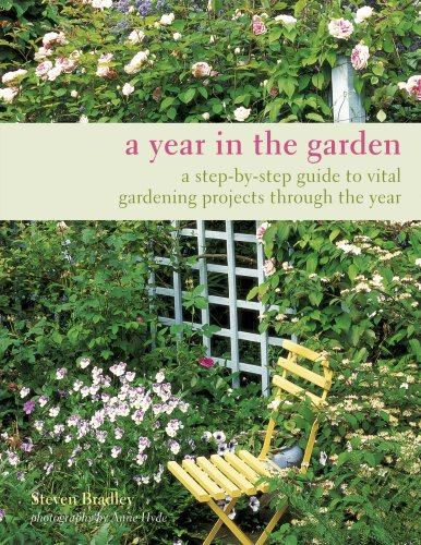 9781845978433: A Year in the Garden: A Step-by-step Guide to Vital Gardening Projects Through the Year