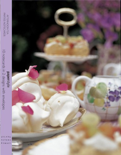 9781845978655: Afternoon Tea Parties Wallet Notecards (Paperstyle Wallet Notecards)