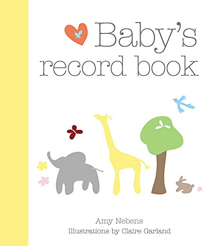 9781846012624: Baby's Record Book: Your First Five Years (Baby Record Book)