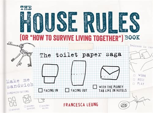 """The House Rules Book: or """"How to Survive Living Together"""" book: Francesca Leung"""