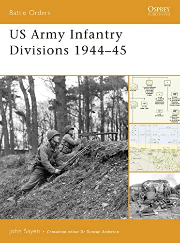US Army Infantry Divisions 1944-45 (Battle Orders): John Sayen