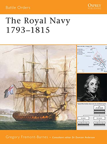 9781846031380: The Royal Navy 1793-1815 (Battle Orders)