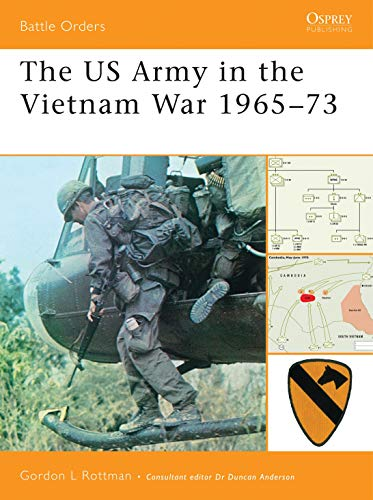 9781846032394: The US Army in the Vietnam War 1965–73 (Battle Orders)
