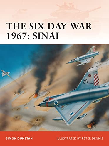 9781846033636: The Six Day War 1967: Sinai (Campaign)