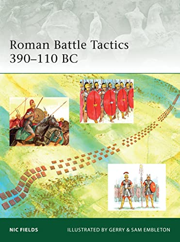 Roman Battle Tactics 390-110 BC (Elite): Fields, Nic