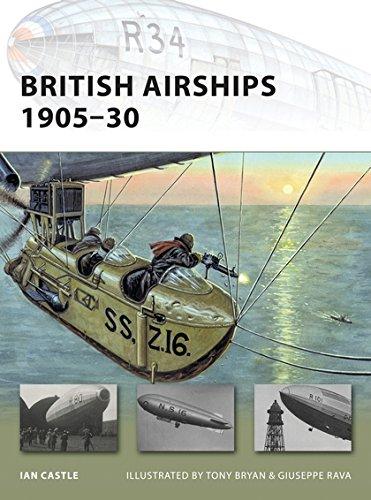 British Airships 1905-30 (New Vanguard): Ian Castle